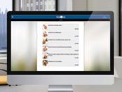 Directamente integrada en la web de tu restaurante